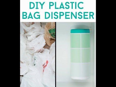 DIY Plastic Bag Dispenser - I'm making this today!