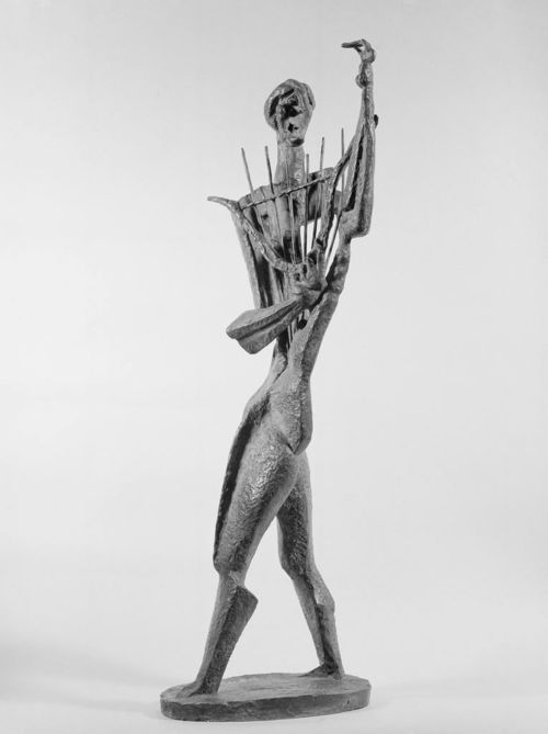 Orpheus by Ossip Zadkine, 1948