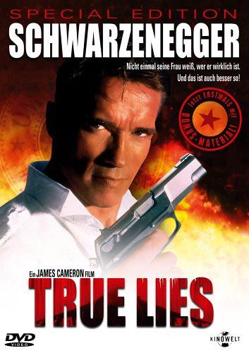 True Lies - one of the best action-humor movies ever!!! Love Jamie Lee Curtis...