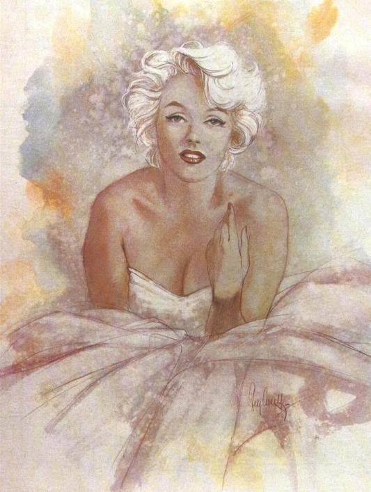 @PinFantasy - Marilyn art - ✯ http://www.pinterest.com/PinFantasy/gente-~-marilyn-monroe-art/