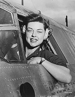 Elizabeth L. Gardner, WASP pilot, WWII. The Women's Airforce Service Pilots were a pioneering group of female volunteer pilots who ferried unarmed planes from factories and airbases in the US into war zones so male pilots could focus on combat flying.