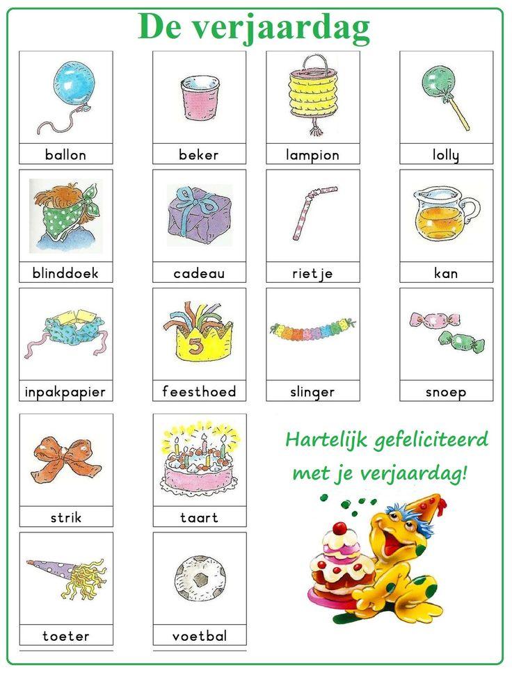 De verjaardag | Nederlandse woordenschat & Dutch ...