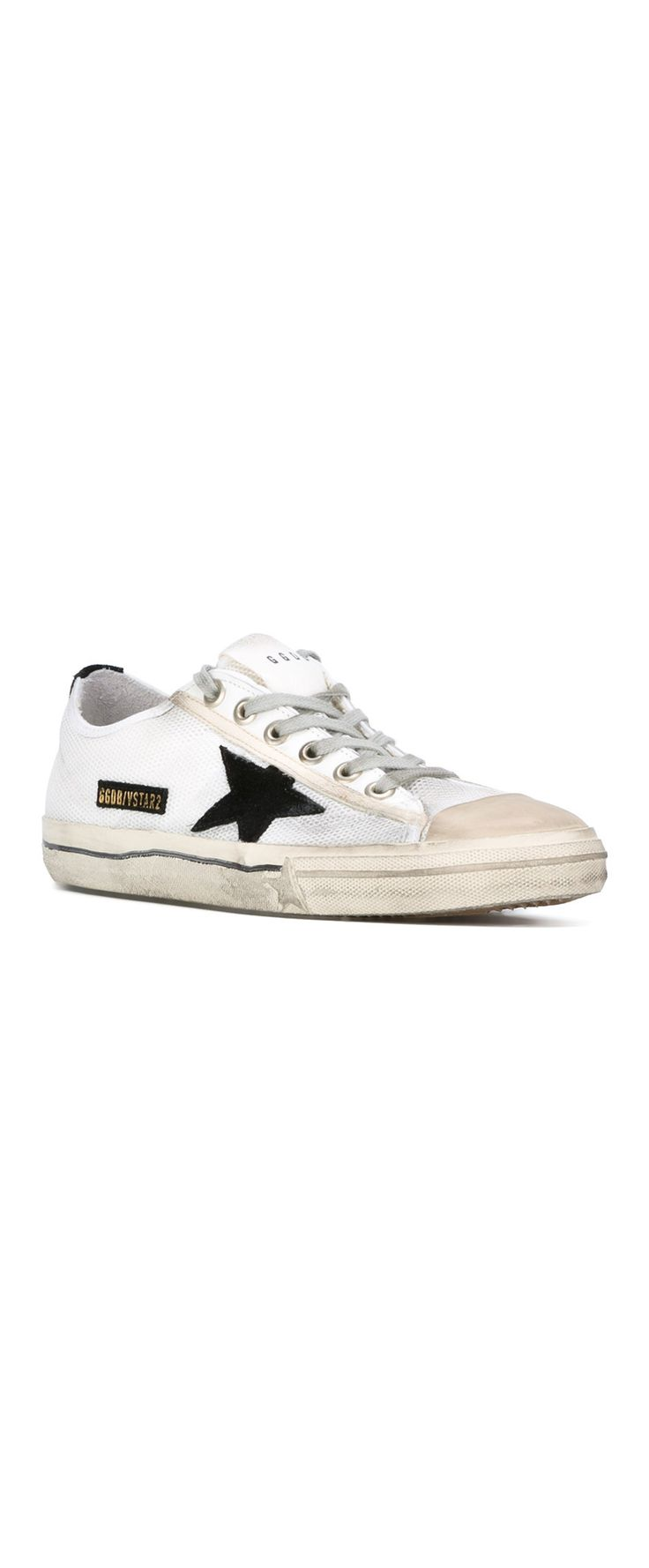 GOLDEN GOOSE DELUXE BRAND nest panel sneakers. Explore our edit of the best dressed from LFWM to inspire your summer look on Farfetch now.