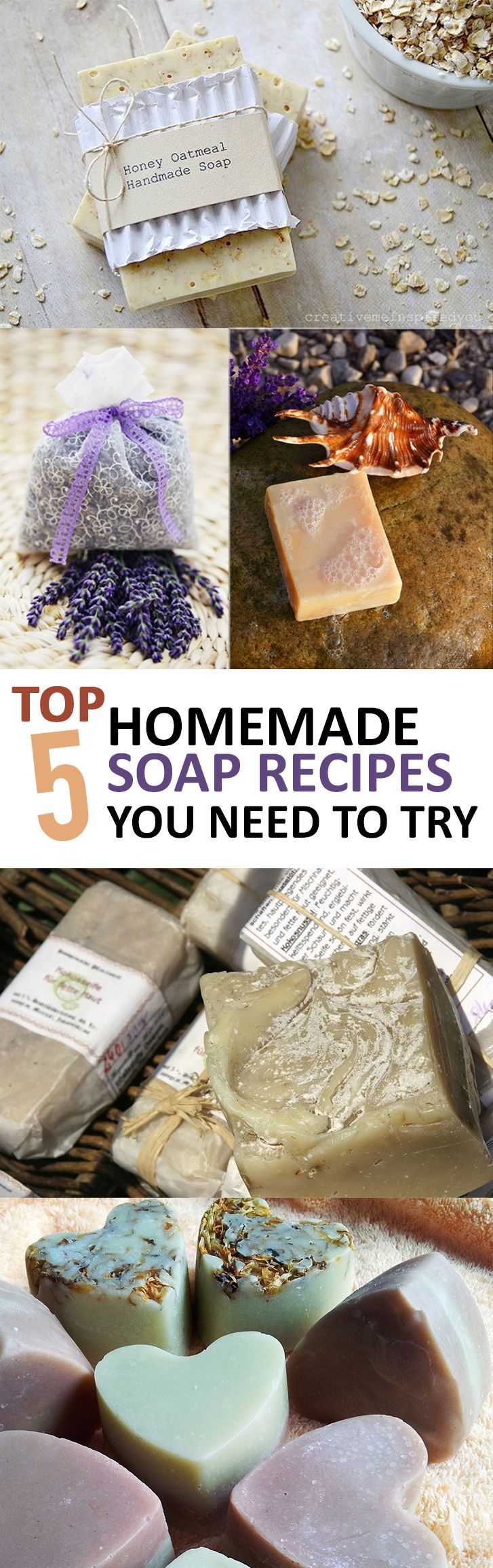 25 unique homemade home decor ideas on pinterest Diy homemade soap recipe