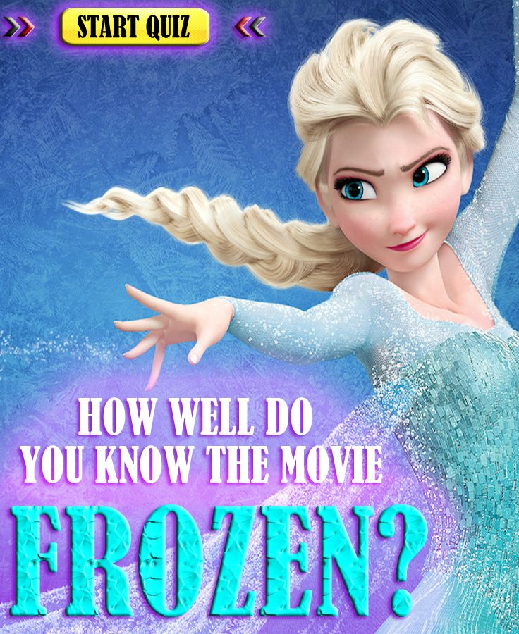 Are you a true Frozen fan? See how you do with these question. It wont be easy, good luck! SHARE and COMMENT