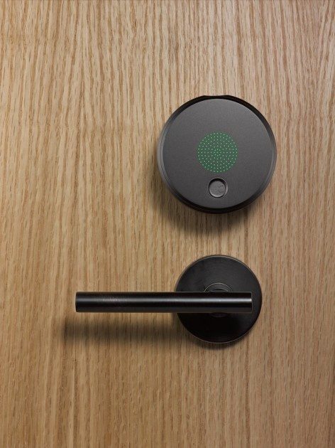 Very cool — check out ths iPhone-operated security system by August Lock