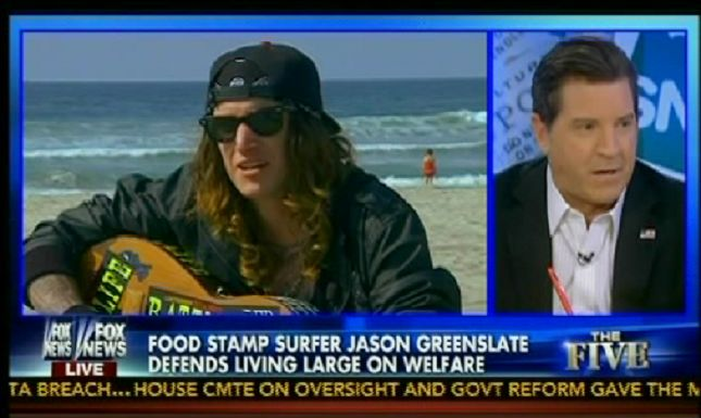 Fox News' misleading smear of food stamp recipients as surfing freeloaders found its way into a congressional hearing aimed at examining the Supplemental Nutrition Assistance Program (SNAP).