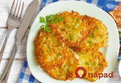 Táto klasika nikdy nesklame. Vyskúšajte obľúbené zemiakové placky s chutným vylepšením! :-)