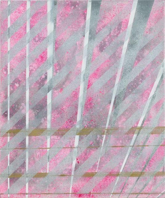 "Alberto Di Fabio ""Speed of Light no. 3"", 2009. Acrylic on canvas"