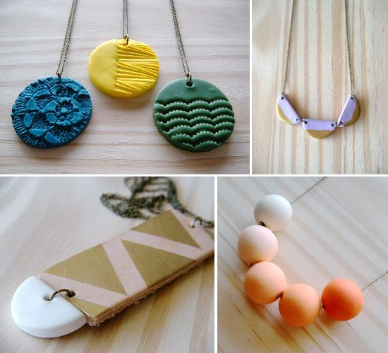 Image result for polymer clay jewelry diy