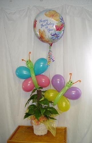 Best butterfly balloons ideas on pinterest balloon