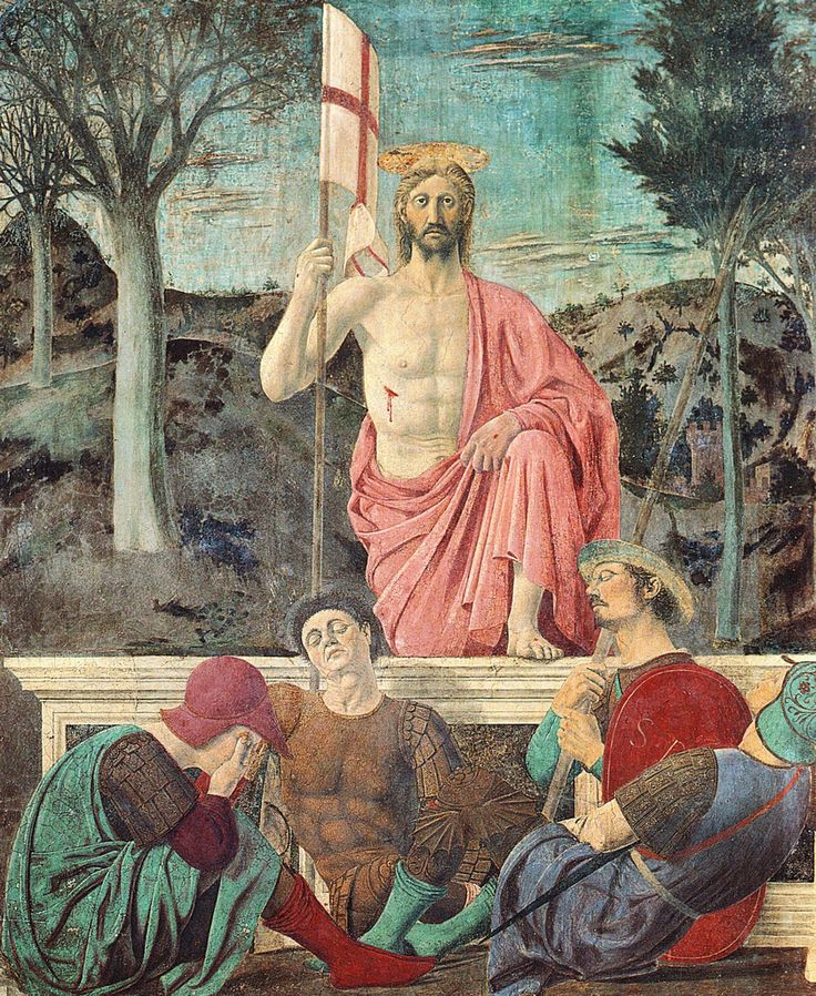 Piero della Francesca - Resurrezione - Museo Civico - San Sepolcro