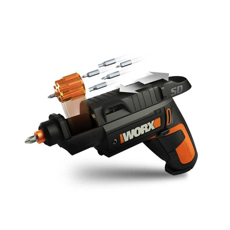 WORX WX254L SD Semi-Automatic Power Screw Driver with 12 Driving Bits - Amazon.com