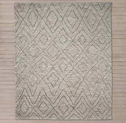 ben soleimani rugs restoration hardware double diamond moroccan wood rug