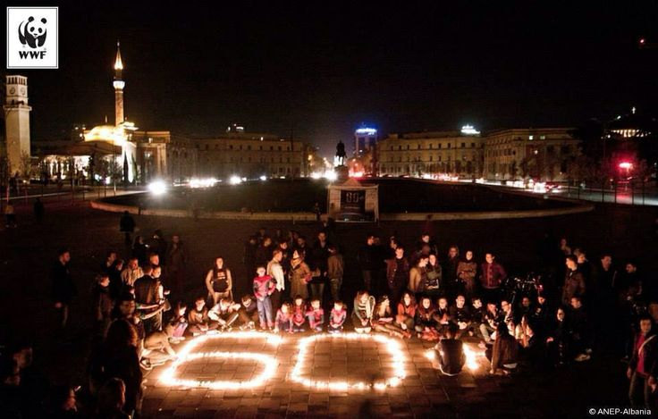 Earth Hour 2014 Albaniassa! Upeeta.