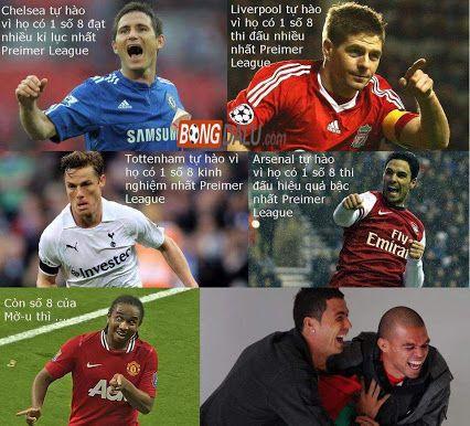Chelsea, Liverpool, M.U...