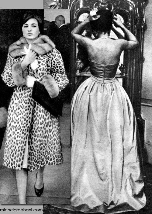 Empress Farah Pahlavi wearing Dior #vintage #royalty #dior