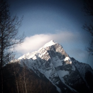 Stekyooden Mountain, Hazelton BC  looking pretty nice this morning 8)