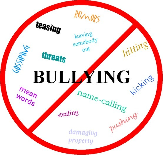 Teachers and Schools....please try to stay on this.   :(  No, if's, and's or buts.......bullying is NOT ALLOWED!   And for the students.....please don't stand by and watch someone get bullied.   Stick up for one another no matter what!