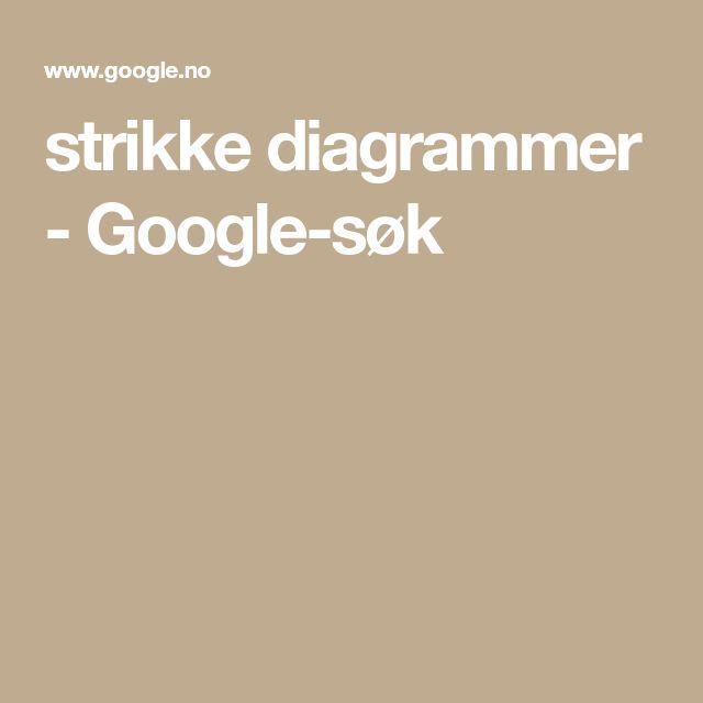 strikke diagrammer - Google-søk