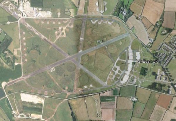 Google Earth Reveals Britain S Ghostly Wartime Airfields