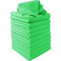 Specification:   Brand new    Material: microfiber    Color: green   Size: approx. 30 x 30cm / 11.8'