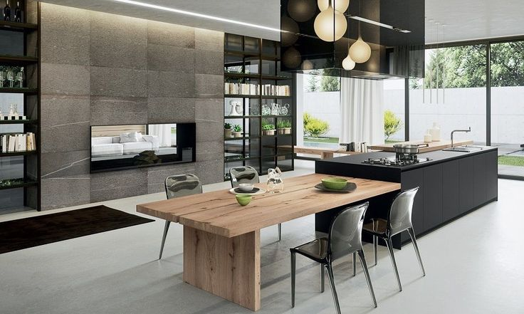 Kitchen Design Trends 2017 Integrated Area - www.houseofhome.com.au/blog/kitchen-design-trends