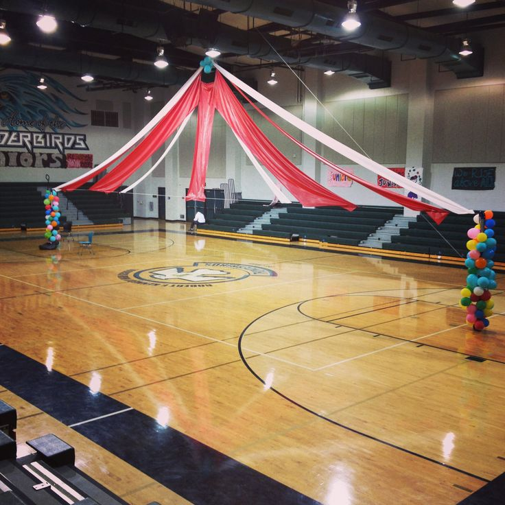 """The Greatest Show On Turf"" circus theme homecoming. Rally gym decorations…"