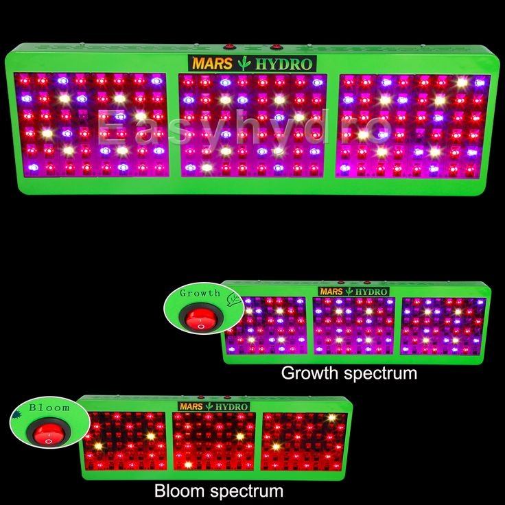 MarsHydro Reflector 720W LED Grow Light lamp for Hydroponics Plants Full Spectrum Indoor Flower Veg marijuana growing. Growth/Bloom switches, only $269.84 on eBay! Don't miss out!