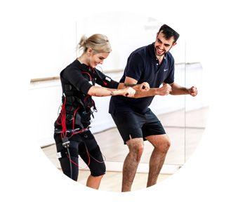 Electro Muscular Stimulation full body workout