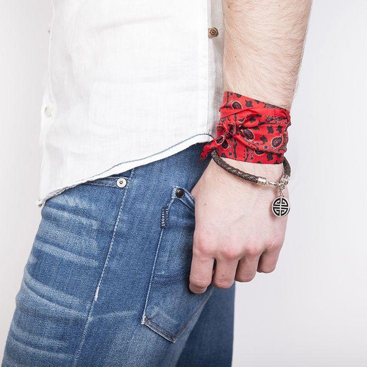 Bandana soie#fashion#accessoire#homme#foulard#textile intelligent#fleurs de Bach#scarf#bach flowers#emotis