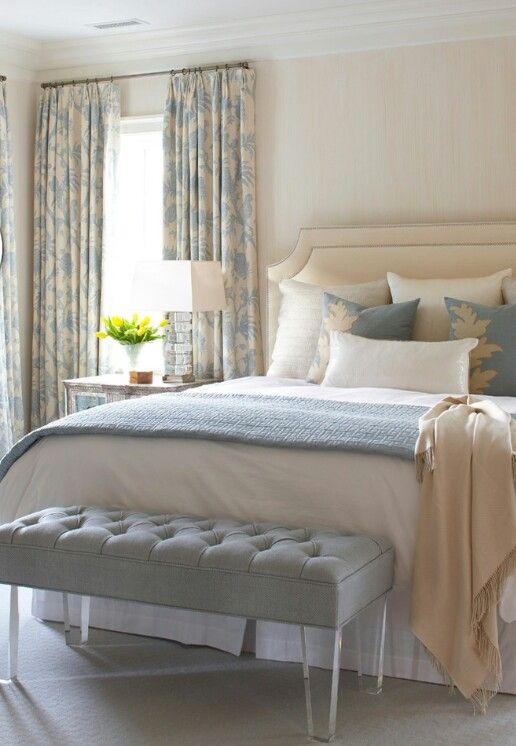 Soothing Colors For Bedroom Beauteous Of Cream and Gray Master Bedroom Pictures