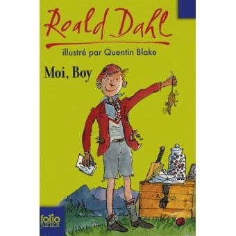 Moi Boy - Roald Dahl - Folio Junior