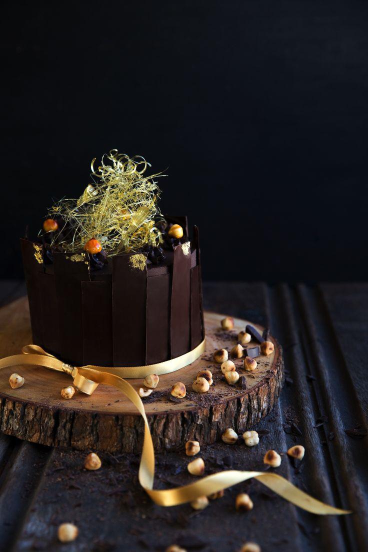 Chocolate Hazelnut Birthday Cake