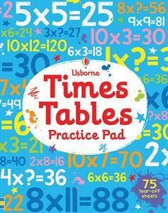 Help children practice and perfect their 2 to 12 times tables with this entertaining write-in activity pad. There are a range of different puzzles and activities for each times table, from number wheels and multiplying machines to speed calculations and multiplication grids. Top tips, times tables, and puzzle answers are at the back of the book.
