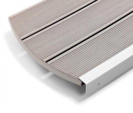 Desnumire: Profil deck WPC RELAZZO classic Sasso Dimensiune (l x h x w):4000/5000/6000 x 30 x 140 mm Culoare: Gri Inchis Colectie: Sasso  Pr...