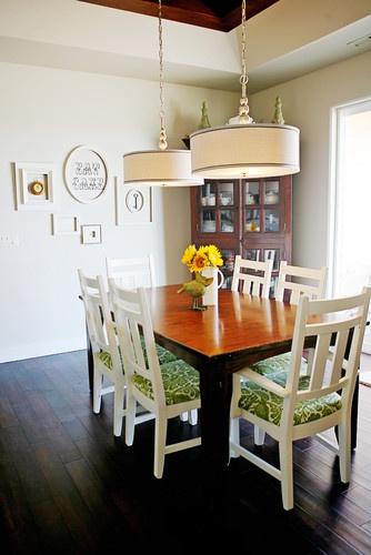 Dining Room Drum Chandelier Going Green In Silicon Valley Round - Dining room drum chandelier
