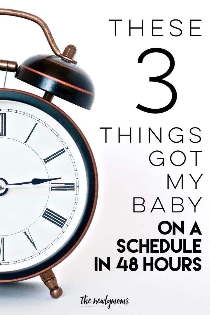 These 3 Things Got My Baby On A Schedule In 48 Hours Funny
