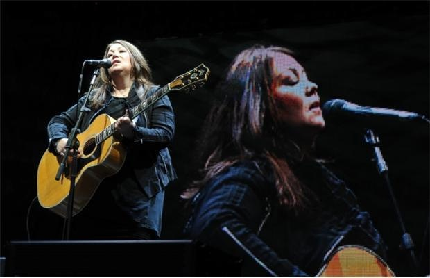 Jann Arden at the Jubilee with Sharon and Jennifer - Feb-2012
