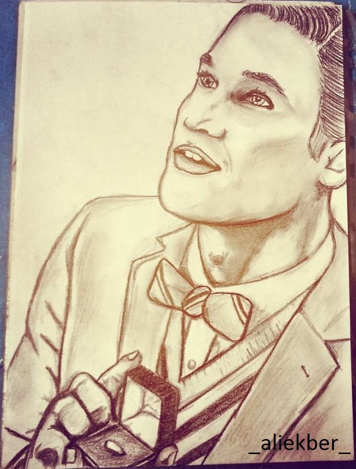 #DarrenCriss #ChrisColfer #Glee #BlaineAnderson #KurtHummel #Klaine #MarryMe #Sketch #draw #fanart #gleek so ??