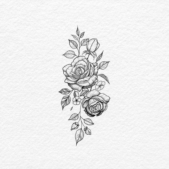 Rose Flower Tattoo Design Tattoo Rose Flower Tattoo Design Tattoo Rose Flower Tattoos Tattoos Floral Tattoo Design