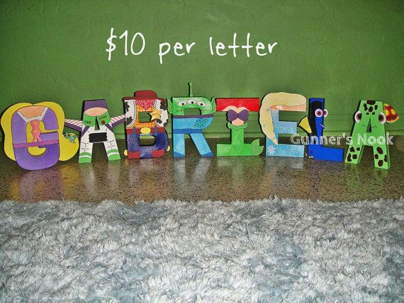 74 best Letras personalizadas images on Pinterest Decorated - character letter