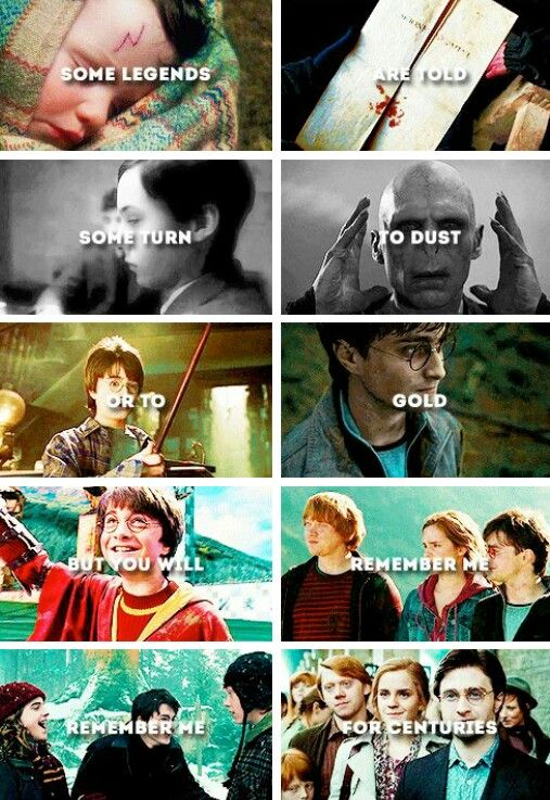 Harry Potter is one of the greatest books & movies ever. I don't doubt they'll always be remembered.