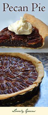 * Lovely Greens *: Pecan Pie