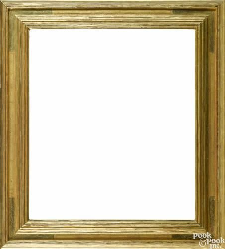 Frederick Harer, carved gilt frame, outside - 31 1/2'' x 28 1/2'', inside - 24 1/2'' x 21 1/2''.