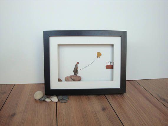 Pebble Art Picture Pebble Art Family Pebble Gift Pebble
