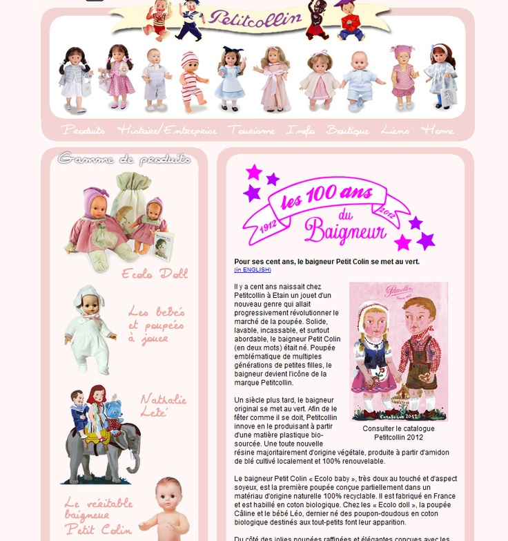 Petitcollin doll producer in Lorraine Region in France: www.petitcollin.com