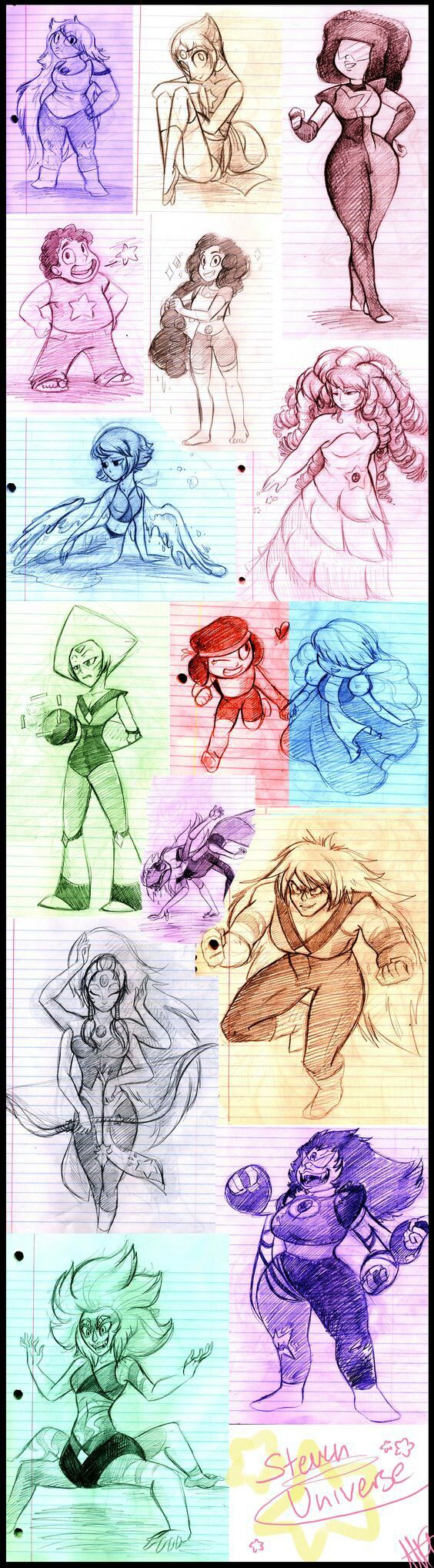 An Amazing artist drew these and they are Awesome!!!