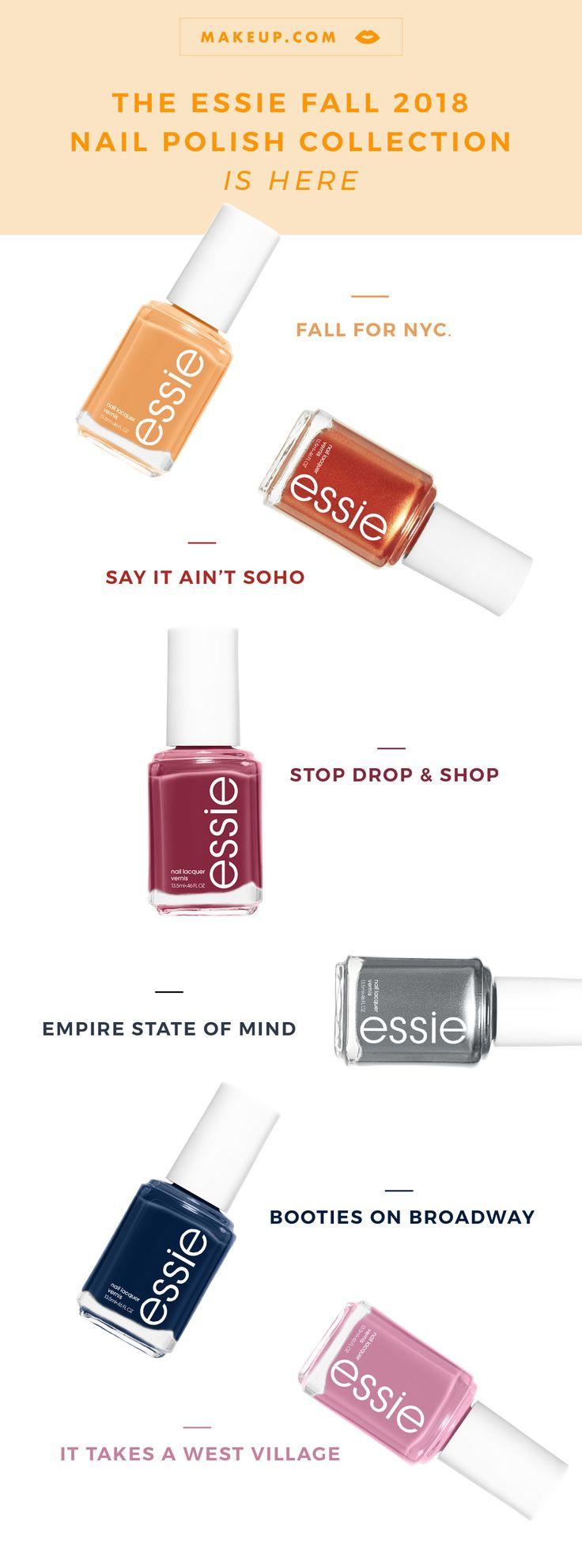 5 Essie Nagellack-Farbkombinationen für den Herbst – Nail colors