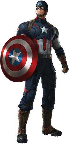 Captain America Avengers Age Of Ultron Fathead Jr